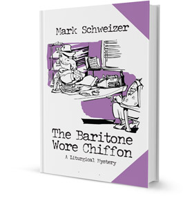 Book Cover of The Baritone Wore Chiffon