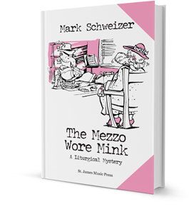 Book Cover pf The Mezzo Wore Mink