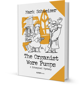 Book Cover of The Organist Wore Pumps